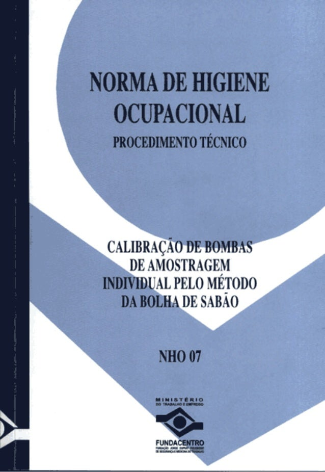 NHO 05 FUNDACENTRO PDF DOWNLOAD