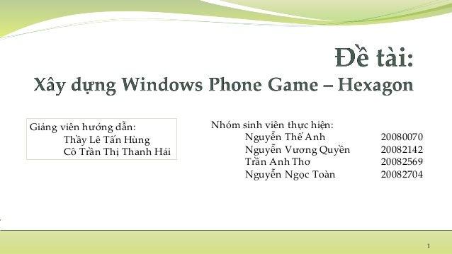Nhóm sinh viên thực hiện: Nguyễn Thế Anh 20080070 Nguyễn Vương Quyền 20082142 Trần Anh Thơ 20082569 Nguyễn Ngọc Toàn 20082...