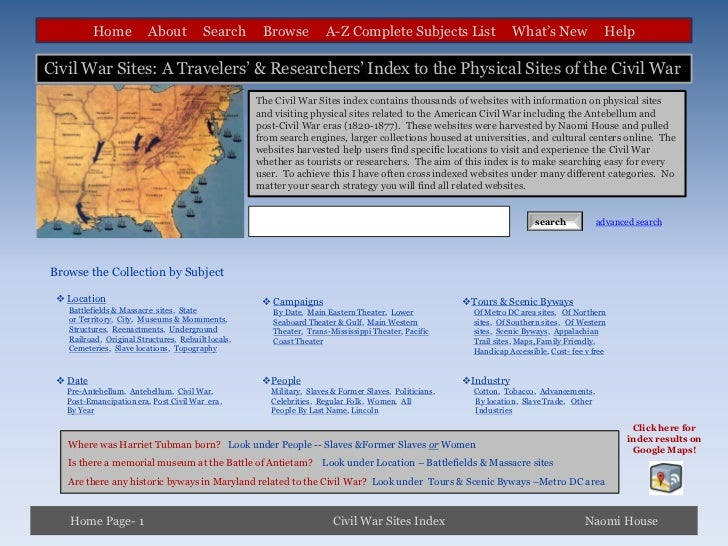 Home           About           Search      Browse           A-Z Complete Subjects List                    What's New      ...