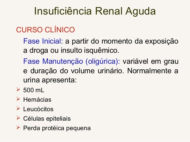 INSUFICIÊNCIA RENAL CRÔNICA Sinais e Sintomas • Os sintomas dependem da gravidade da insuficiência renal, de sua velocidad...