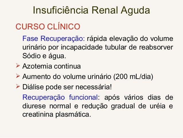 Síndrome Urêmica Neurológica Central • Sonolência, coma • Alteração ativ. cognitiva • Perda memória •Tremores, mioclonias ...