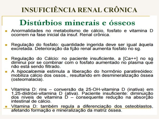 Principais Causas: - Hipertensão arterial - Diabetes mellitus - Doença policística renal - Glomerulonefrites - Infecções u...