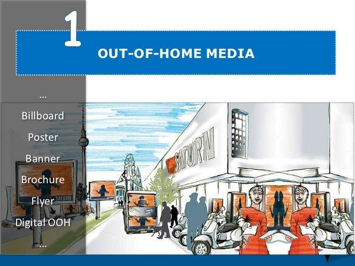 OUT-OF-HOME MEDIA    … Billboard  Poster  Banner Brochure   Flyer                                  22Digital OOH    …