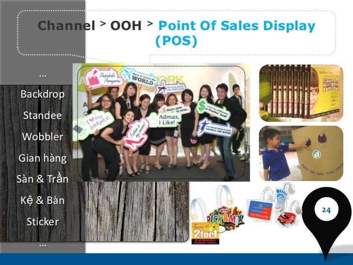 Channel   >   OOH   >   Point Of Sales Display                            (POS)    …Backdrop Standee WobblerGian hàngSàn &...
