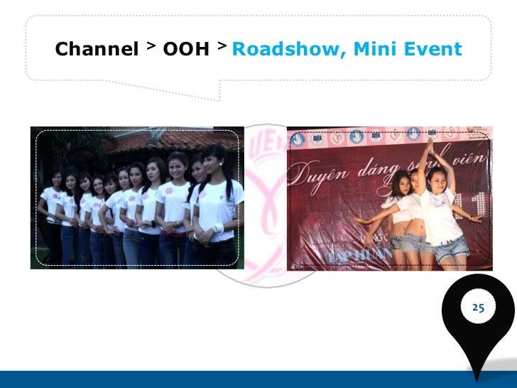 Channel   >   OOH   >   Roadshow, Mini Event                                               25