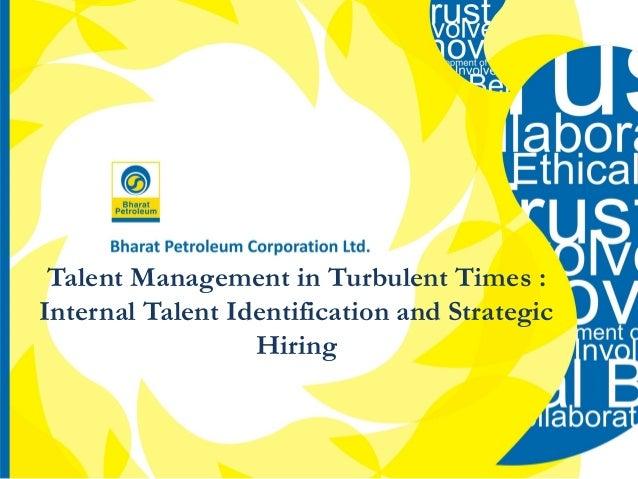 Talent Management in Turbulent Times : Internal Talent Identification and Strategic Hiring