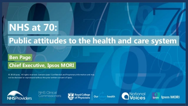 117-096624-01 | NHS Providers Stakeholder Research 2018 | Version 1 | Internal & Client Use © 2016 Ipsos. All rights reser...