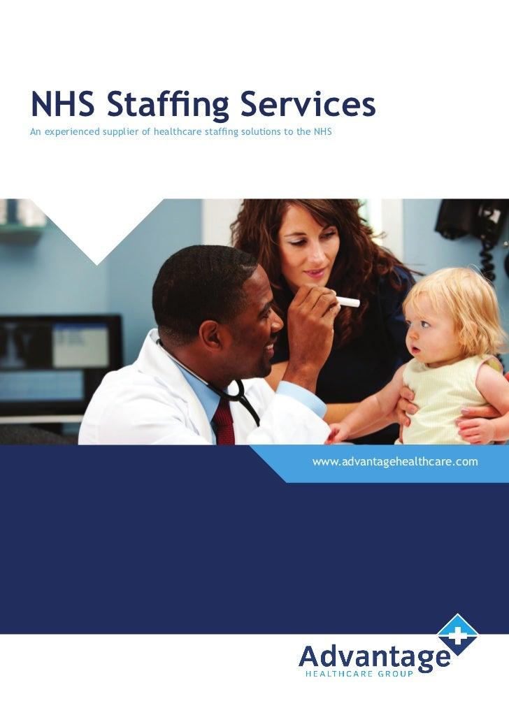 nhs staffing services brochure