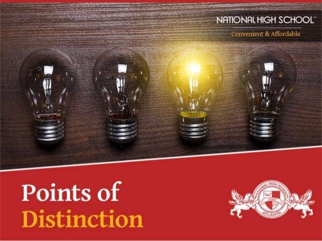 .1-. -.. .~-a  .  . .  . .  V _ . . _ . .,, ,,        Points of Distinction