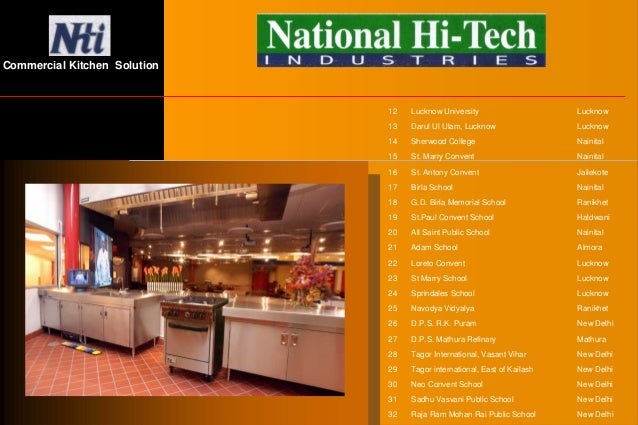 NATIONAL HI TECH INDUSTRIES ( company profile)