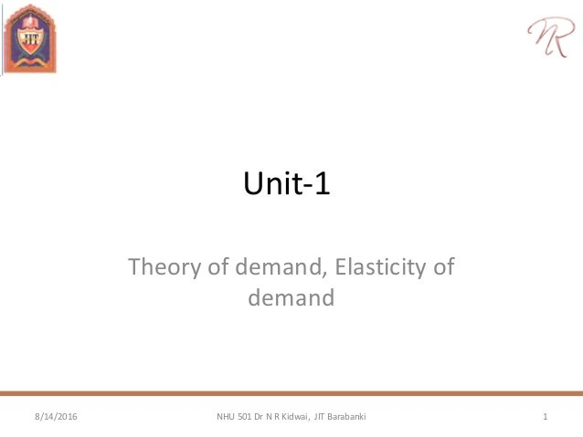 demand theory analysis Introduction to demand theory from wikieducator the survival and the growth of any business enterprise depends upon the proper analysis of demand for its.