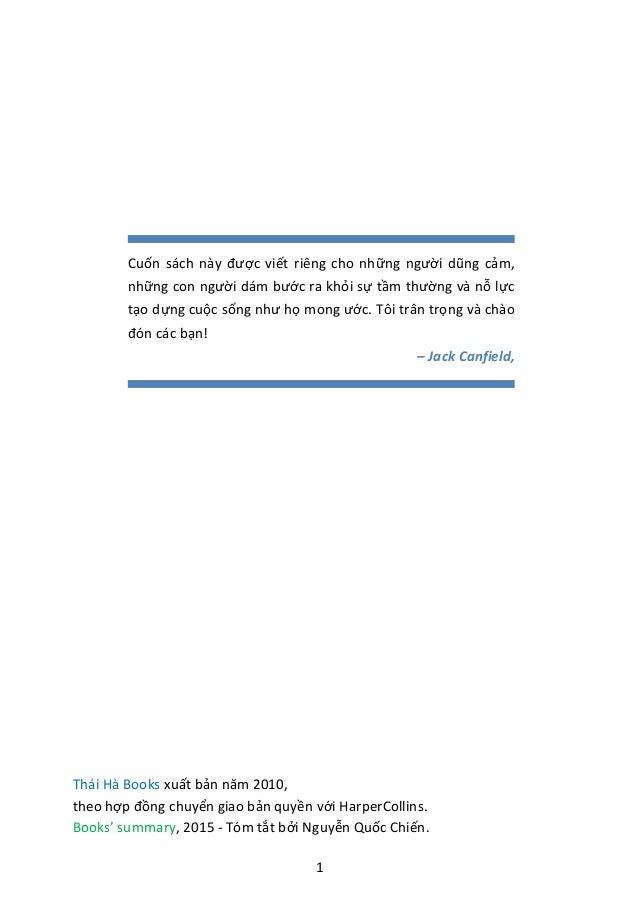 Những nguyên tắc thành công - Books' summary Slide 2