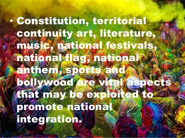 about national integration essay