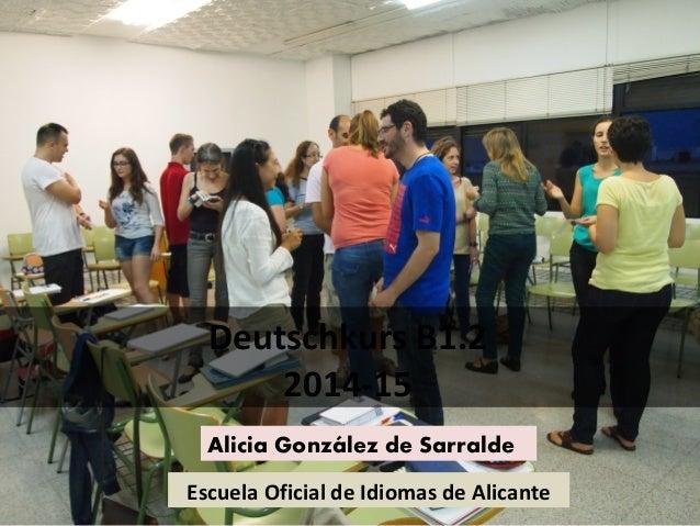 Daf b1 2 escuela oficial de idiomas methodische hinweise - Escuela oficial de idiomas inca ...