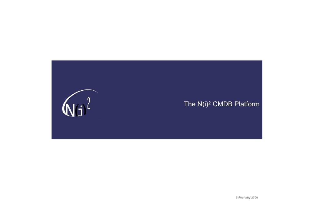 N I 2 Technical Architecture 2 0 V1 1