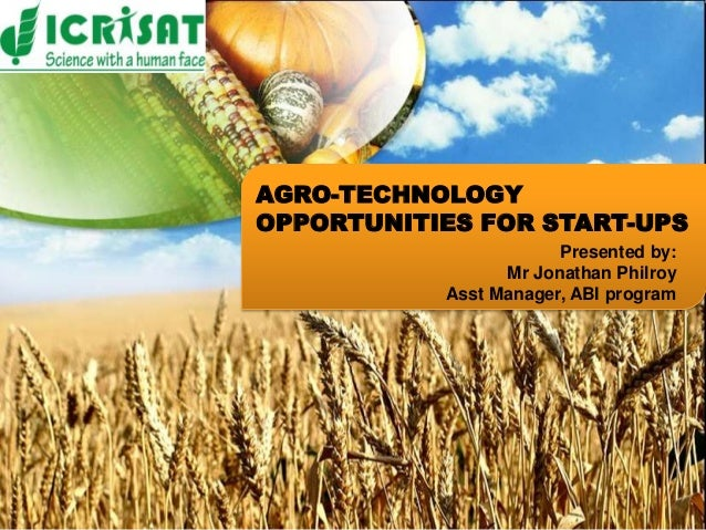 BUSINESS PLANNING AND               AGRO TECHNOLOGY                  DEVELOPMENT UNIT               OPPORTUNITIES FOR STAR...