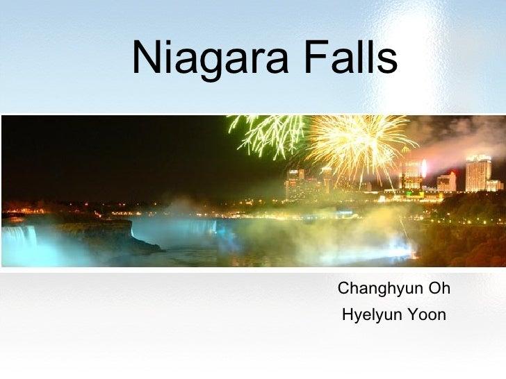 Niagara Falls Changhyun Oh Hyelyun Yoon