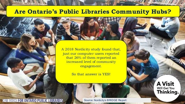 Source: MarketProbe Canada Report Are Public Libraries Growing in Ontario? The average Ontario public library cardholder v...
