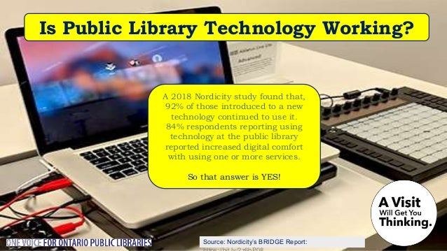 It's fun to come to your library. Most offer 3D printing but there's more – photo and video editing, woodworking, knitting...