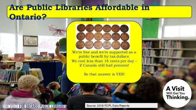 Source: Nordicity's BRIDGE Report: Are Public Libraries Lending e-Books? Of course! An average public library in Ontario h...