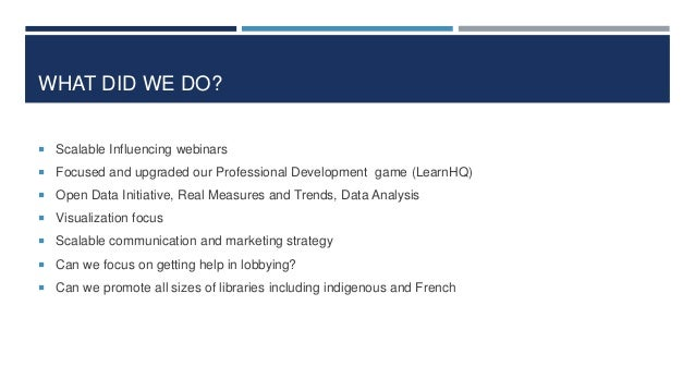 MORE DELIVERABLES - INFLUENCE  Statistics  5th annual report with Dr. Robert Molyneux  Full scale book on Qualitative a...