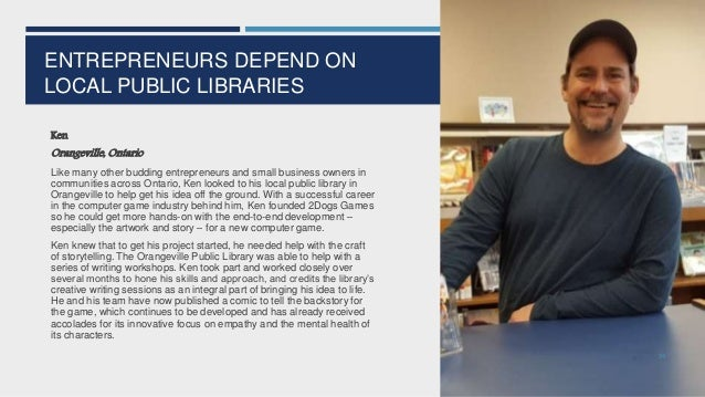 PUBLIC LIBRARIES NEED HELP  Public libraries are experts at maximizing the value of every dollar, but many public library...