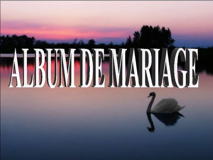 ALBUM DE MARIAGE