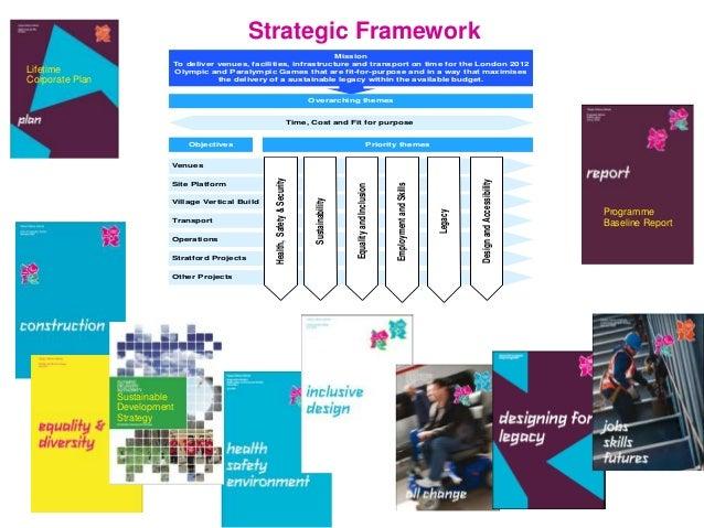 Strategic Framework Sustainable Development Strategy Accessible Transport Strategy Programme Baseline Report Lifetime Corp...