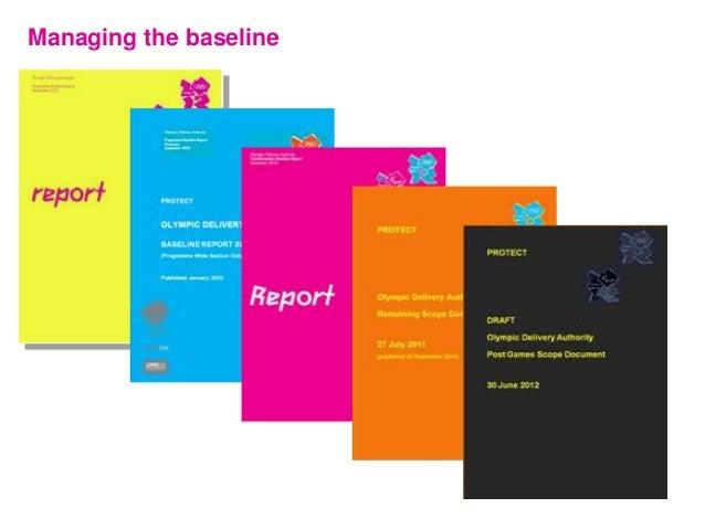 Managing the baseline