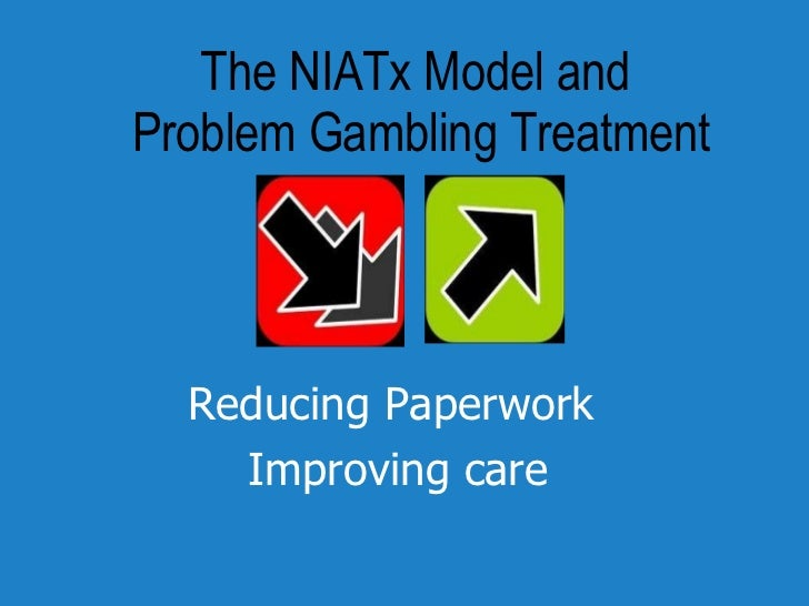 The NIATx Model and  Problem Gambling Treatment Reducing Paperwork  Improving care