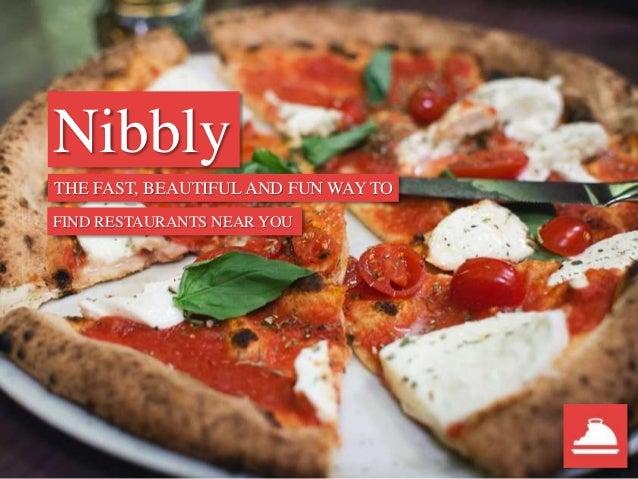 Nibbly An Innovative Restaurant Finder App