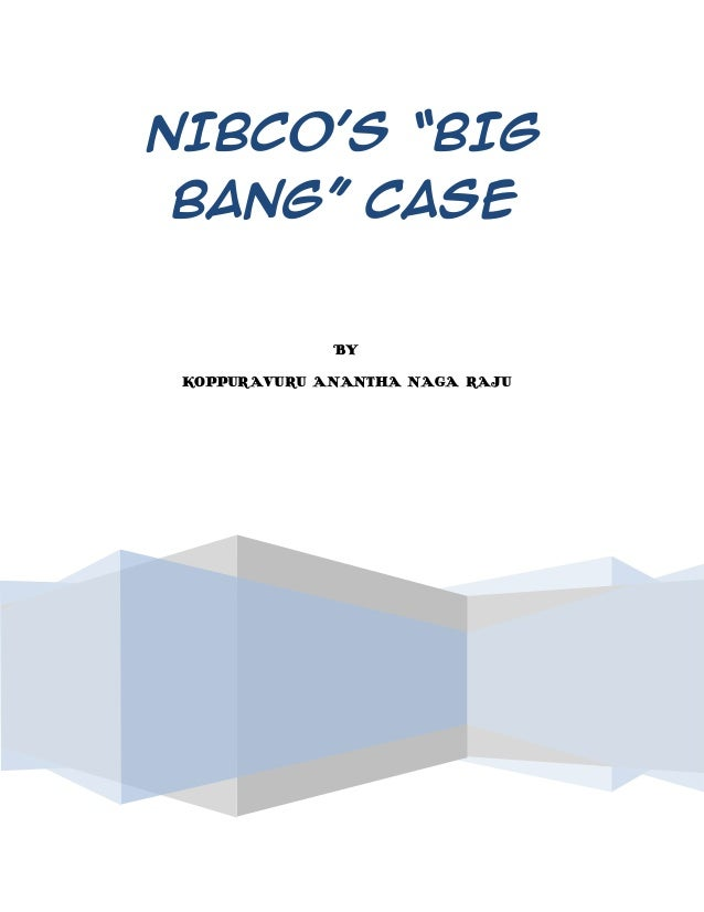 Case Study III 5 NIBCO Big Bang An SAP Implementation ...