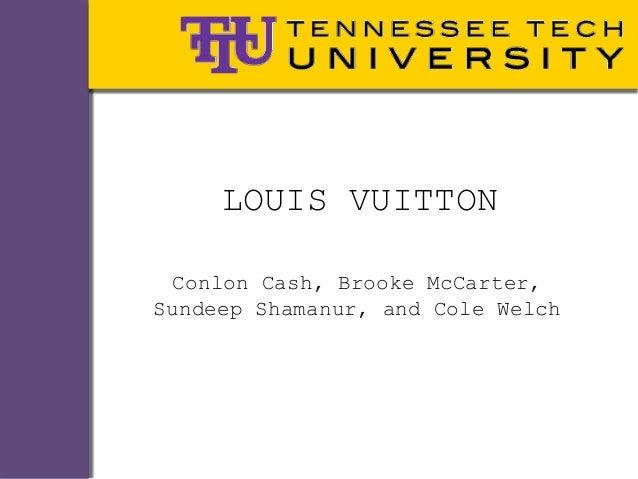 LOUIS VUITTON Conlon Cash, Brooke McCarter,Sundeep Shamanur, and Cole Welch