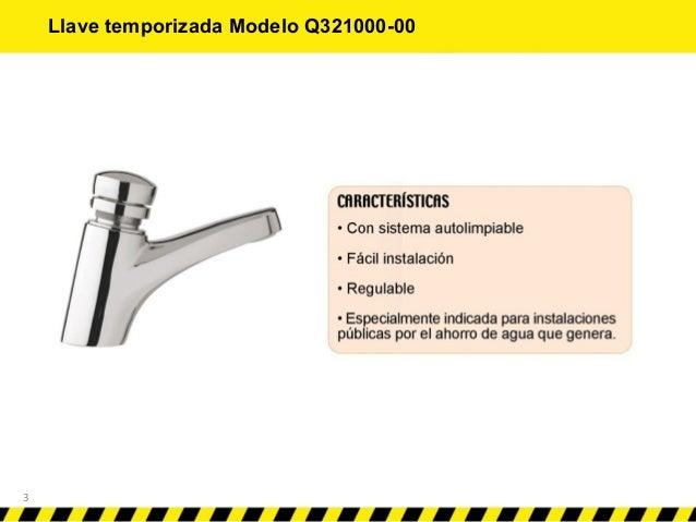 Instalaci n de llaves temporizadas y flux metros for Llave ducha sodimac