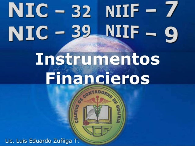 Company LOGO Instrumentos Financieros Lic. Luis Eduardo Zuñiga T.