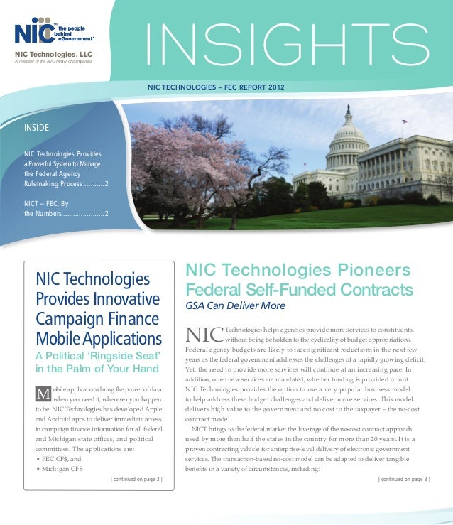 NIC Technologies, LLCA member of the NIC family of companies                                                          NIC ...