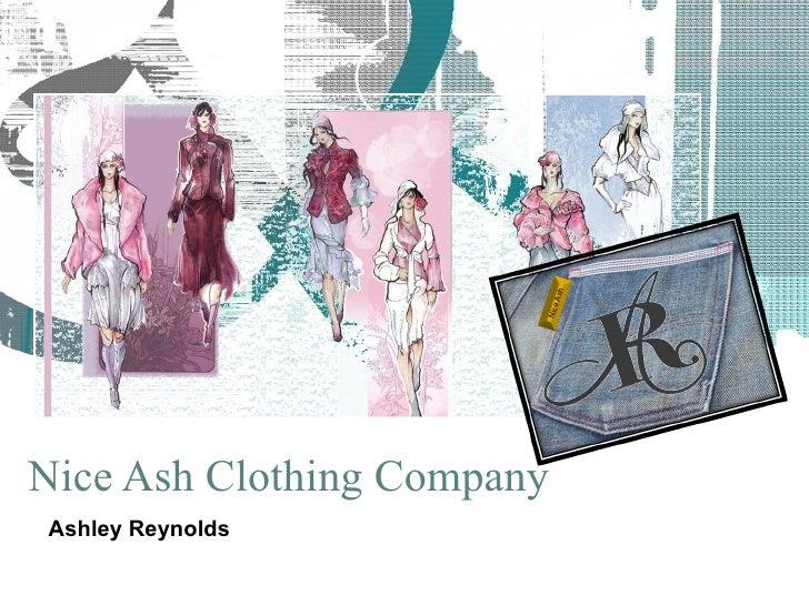 Nice Ash Clothing Company Ashley   Reynolds Nice Ash