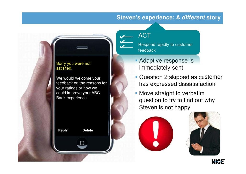 Steven's experience: A different story                                     ACT                                     Respond...