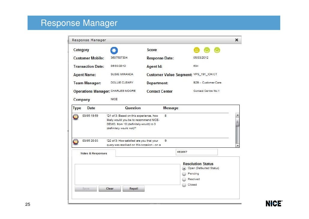 Response Manager25
