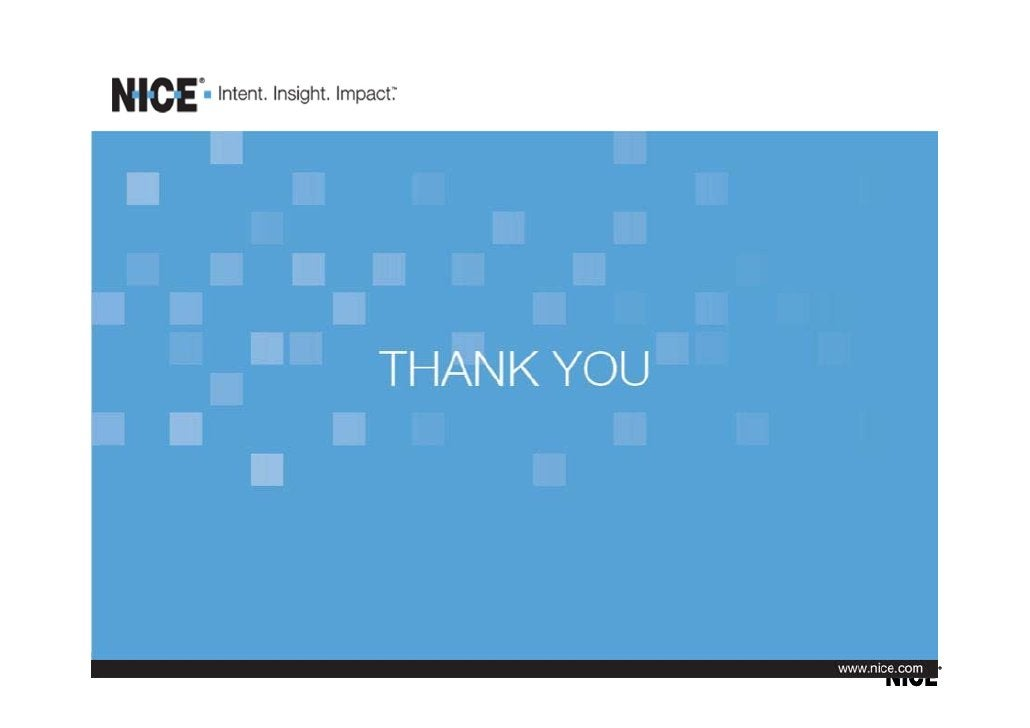 NICE Fizzback - Voice of the Customer