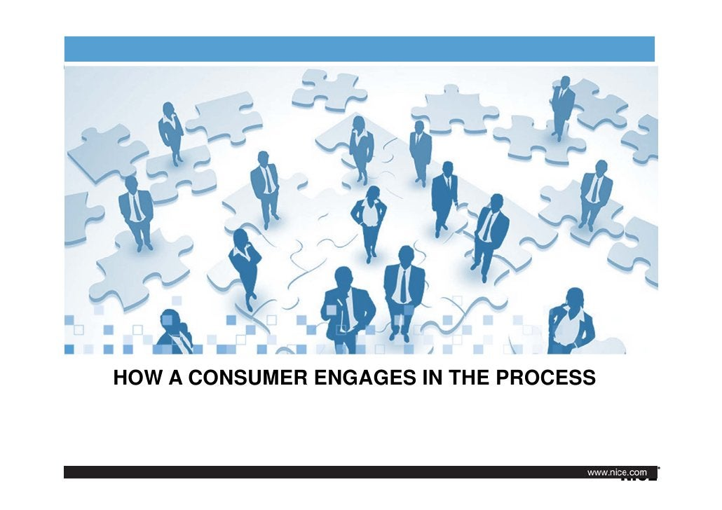 HOW A CONSUMER ENGAGES IN THE PROCESS