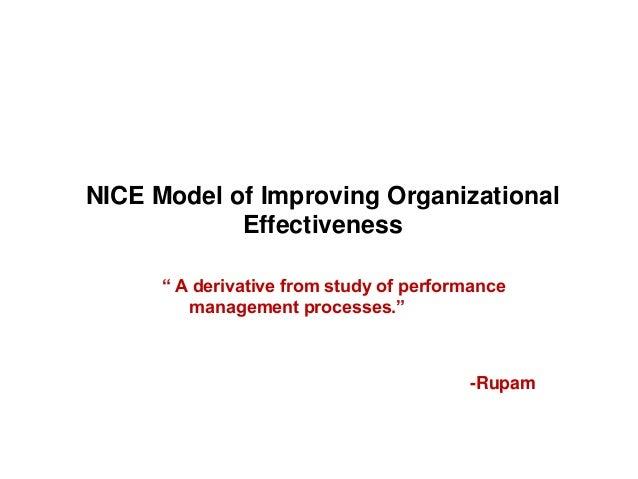 Organizational diagnostics