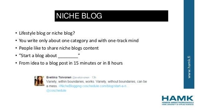 How to write a blog post?