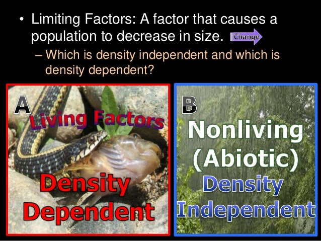 Niche Limiting Factors Human Population And More Lesson