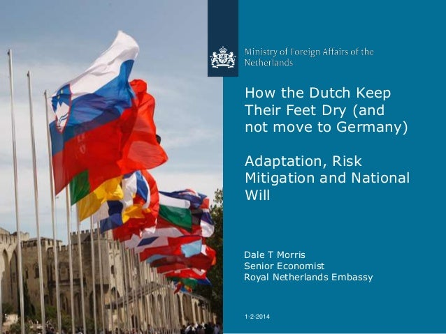 How the Dutch Keep Their Feet Dry (and not move to Germany) Adaptation, Risk Mitigation and National Will  Dale T Morris S...