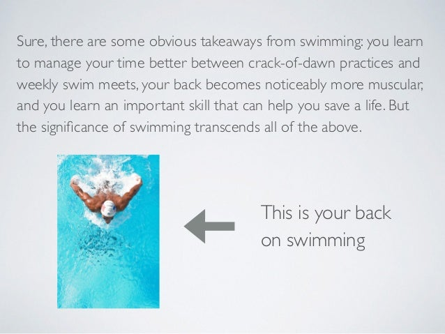 How to Swim Faster - The Six Principles of Fast Swimming