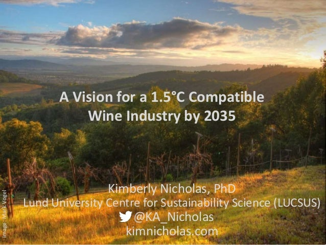 Image:MarkVogel Kimberly Nicholas, PhD Lund University Centre for Sustainability Science (LUCSUS) @KA_Nicholas kimnicholas...