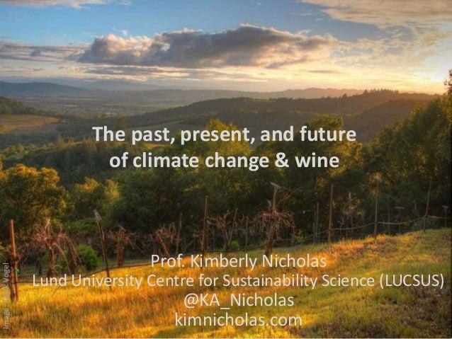 Image:MarkVogel Prof. Kimberly Nicholas Lund University Centre for Sustainability Science (LUCSUS) @KA_Nicholas kimnichola...