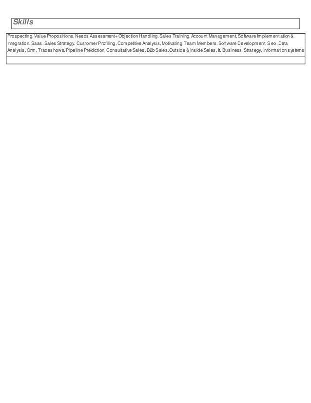 nick sherron resume