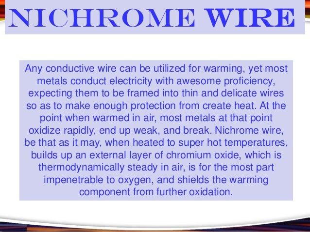 Miraculous Nichrome Wire Wiring Cloud Toolfoxcilixyz
